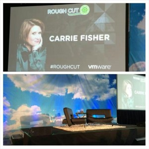 Carrie Fisher at VMware