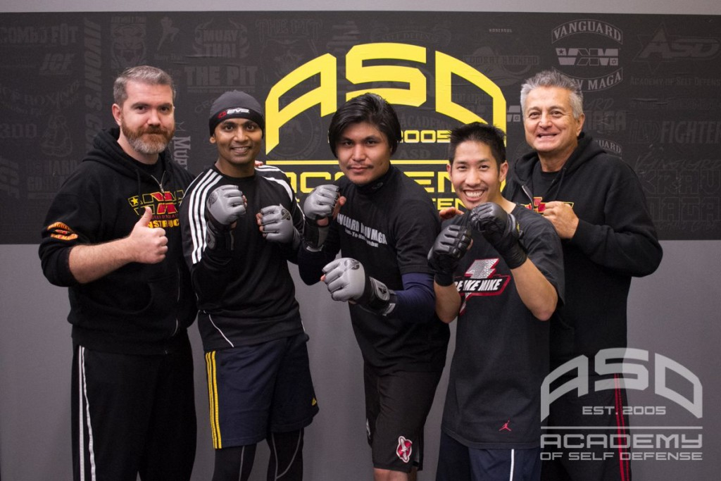 My partners and instructors at the Academy of Self-Defense - so honored to train with you all.
