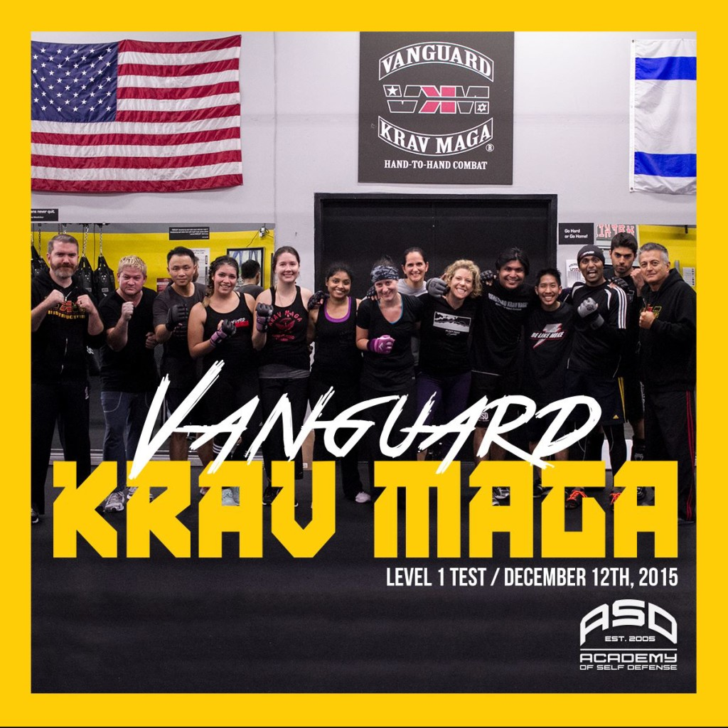 Felt incredibly blessed to test with my Krav Maga family.